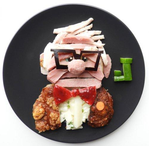 Креативные завтраки с любимыми персонажами сына (17 фото)