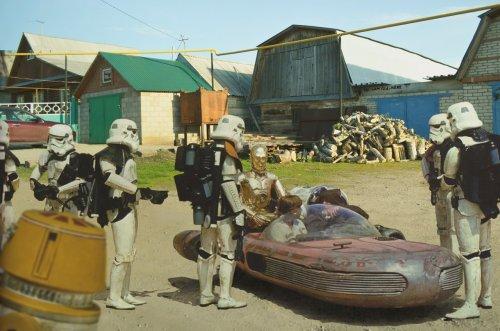 Если бы популярные голливудские фильмы снимали в России (24 фото)