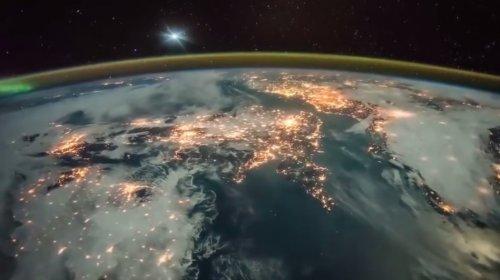 Рассвет на Земле глазами космонавтов