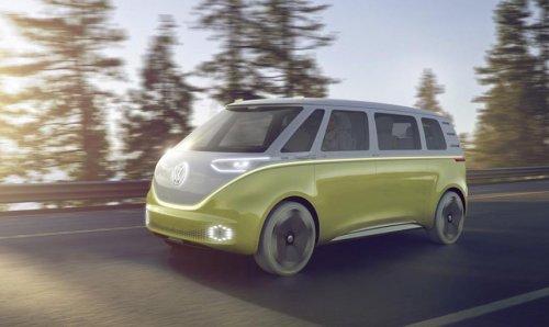 Volkswagen демонстрирует беспилотный микробус будущего, который даже более хипповый, чем тот самый «Жук»