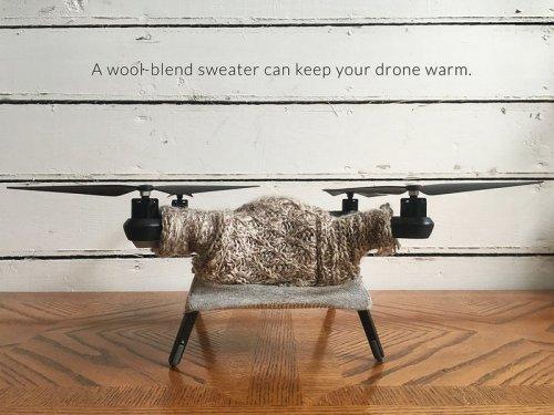 Декоративные свитера для дронов