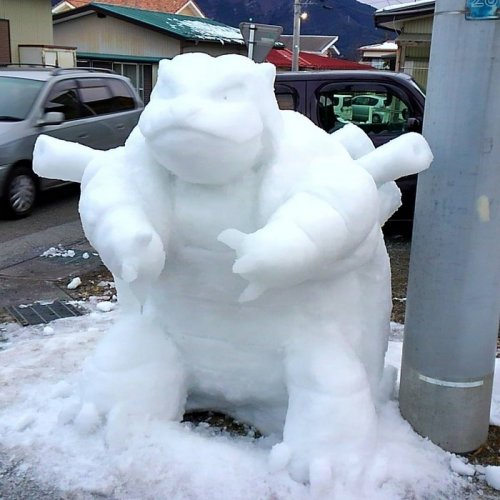 Что происходит, когда в Японии выпадает много снега (26 фото)