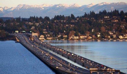 Плавучие мосты в Сиэтле (11 фото)