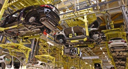 Одним глазком: производство машин Mercedes-Benz на заводе в Германии