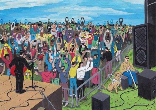 Честные иллюстрации о современном обществе от Брехта Ванденбрука (21 фото)