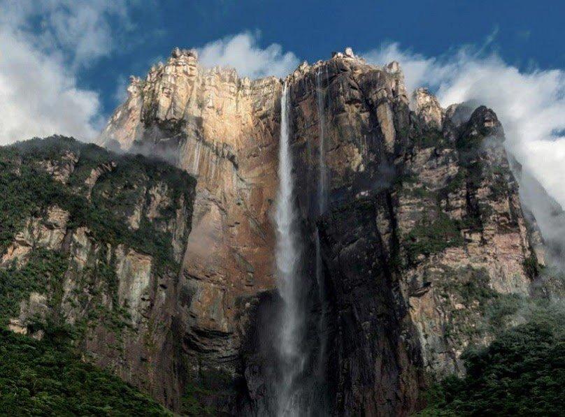 этого самый высокий водопад в мире фото красивых