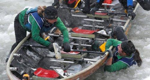 Ежегодные ледовые гонки на байдарках, соревнования 2017 года