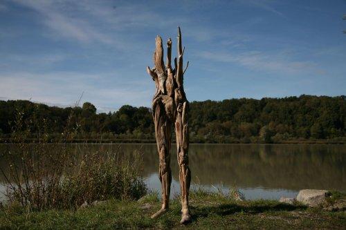 Скульптуры из коряг Нагато Ивасаки, которые никого не оставят равнодушными (10 фото)