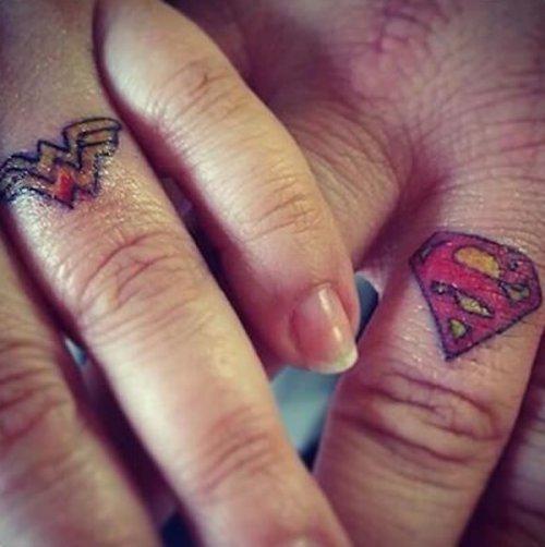 Парные свадебные татуировки (15 фото)