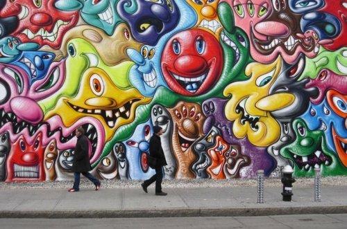 Стрит-арт со всего света (12 фото)