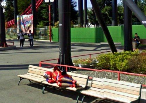 Всё самое странное и прикольное с Google Street View (18 фото)