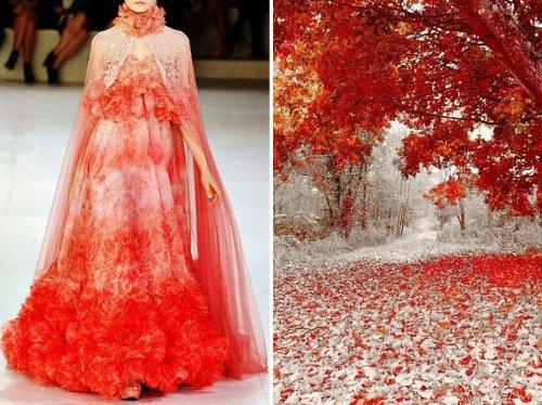 Симбиоз моды и природы в фотографиях Лилии Худяковой (36 фото)