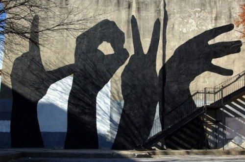 Стрит-арт со всего мира (25 фото)