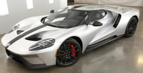 Компания Ford представила инновационную модель спорткара Ford GT Competition Series (5 фото)