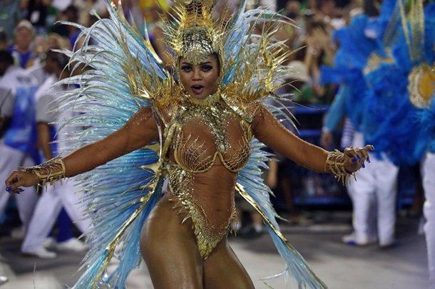 Карнавал в Бразилии 2017 + фото девушек!