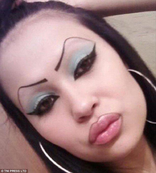 брови фото женские