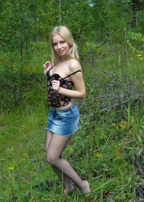 русские молодые частное фото