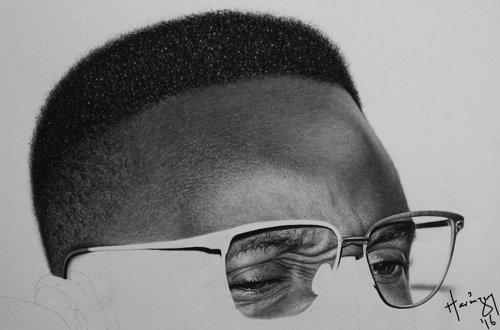 Невероятно реалистичные портреты, сделанные художником Аринзе Стэнли (10 фото)