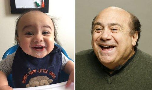 Малыши, похожие на знаменитостей (14 фото)