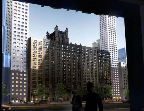 В Нью-Йорке планируют построить невероятный изогнутый небоскрёб, который станет самым длинным зданием в мире (6 фото)