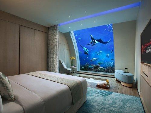 Подводные отели с самыми захватывающими видами из окна (10 фото)