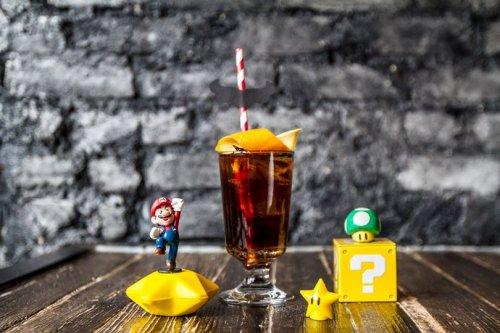 Тематический бар для поклонников видеоигры Super Mario Bros. (9 фото)