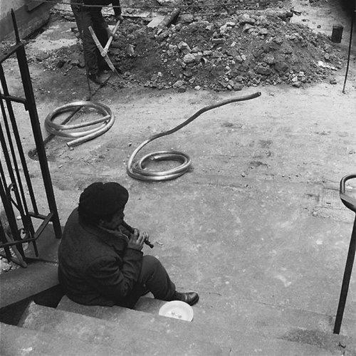 Юмористические уличные фотографии 1950-х годов Рене Мальтета (35 фото)