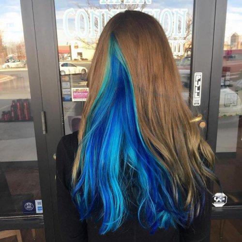 """Новый модный тренд: """"жеодовые"""" волосы (19 фото)"""