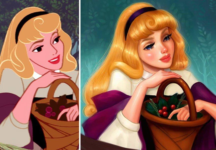 диснеевских принцесс картинки