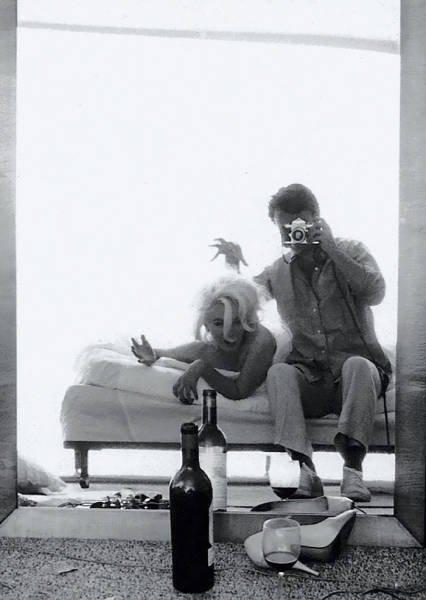 Селфи знаменитостей, сделанные ещё до появления смартфонов (22 фото)
