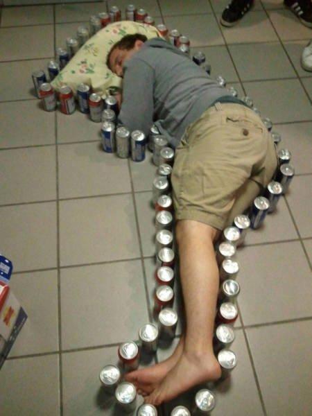 Пьяные и смешные (18 фото)