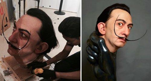 Невероятно реалистичные скульптуры знаменитостей Кадзухиро Цудзи (8 фото)