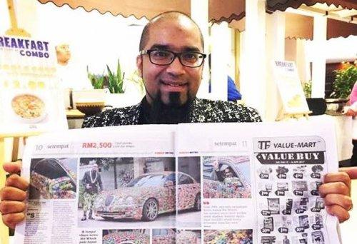 Коллекционер машинок Hot Wheels украсил свой Jaguar S-Type 4600 игрушками (5 фото + видео)