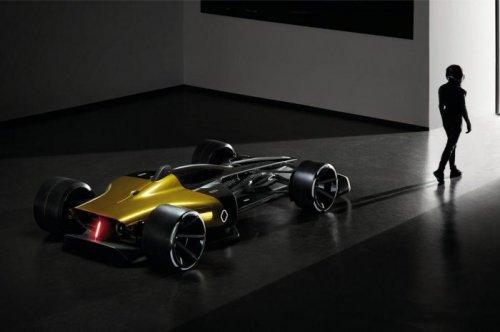 Концепт болида Формулы-1 от Renault (16 фото + видео)