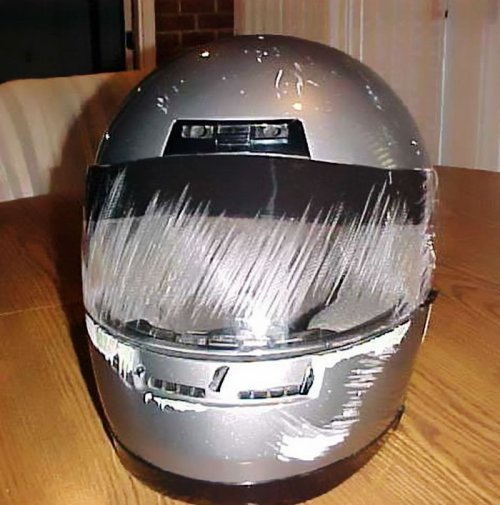 Почему нужно всегда надевать шлем (23 фото)