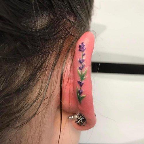 Новый тату-тренд: хеликс-татуировки (8 фото)