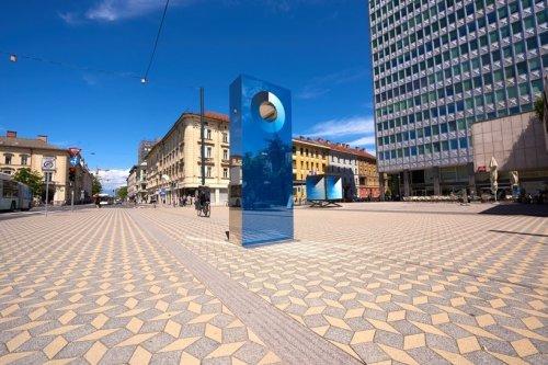 Люблянский цианометр измеряет цвет неба