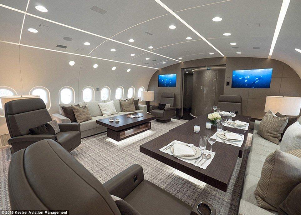 RICARDO SALINAS PLIEGO Inside his US 80000000 Yacht