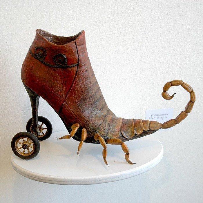 необычная мужская обувь фото начале