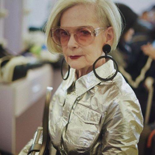 Случайный кумир Лин Слейтер: как обычный университетский профессор стала иконой стиля (17 фото)