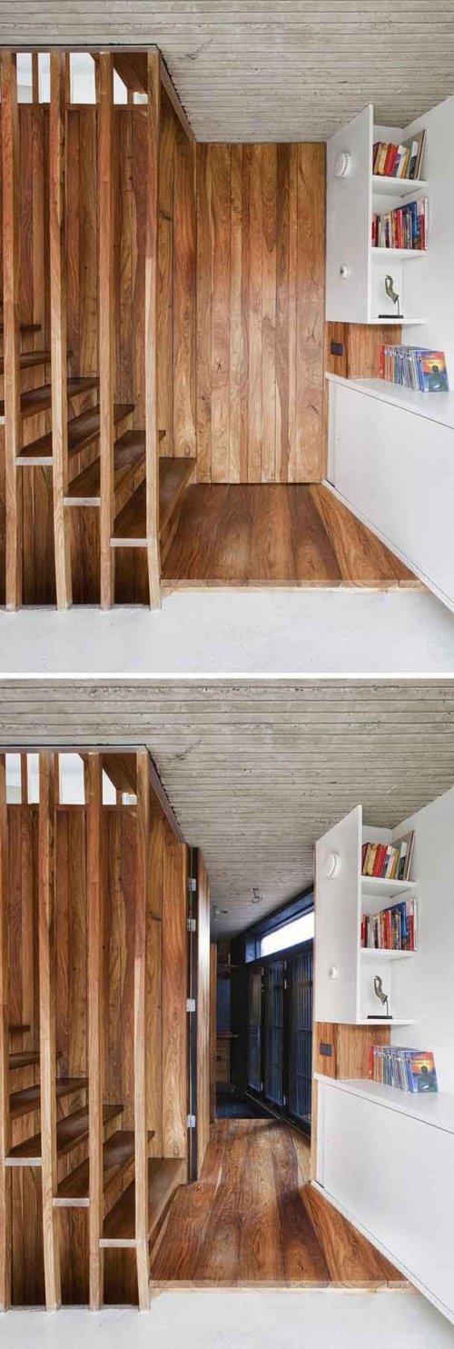 Невероятные потайные комнаты, которые вы захотите иметь у себя в доме (19 фото)