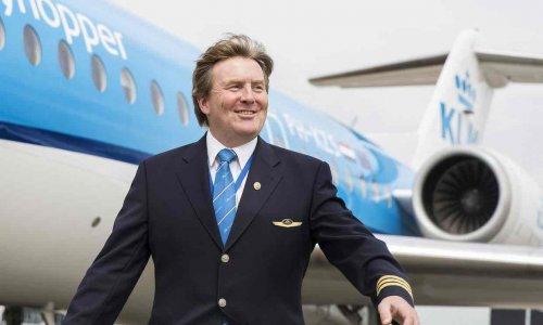 Король Нидерландов признался, что более 20 лет работает пилотом (2 фото)