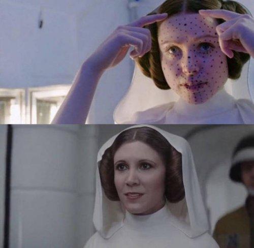 Популярные фильмы до и после добавления спецэффектов (22 фото)