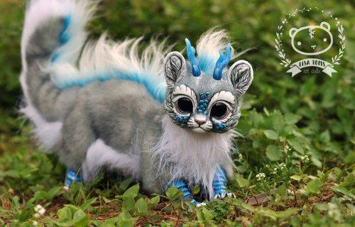 Нереальные существа Лизы Томс (8 фото)