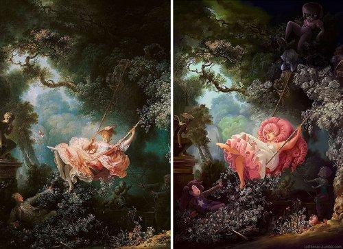 Художник преобразил классические картины для настоящих гиков (7 фото)