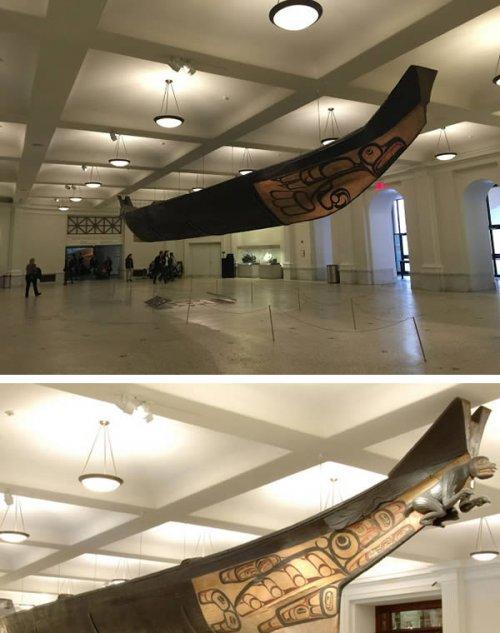 Впечатляющие скульптуры, созданные из цельного ствола дерева (9 фото)
