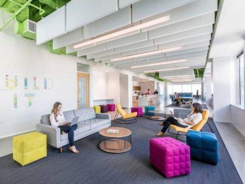 Обновлённая штаб-квартира Adobe в Сан-Хосе (32 фото)