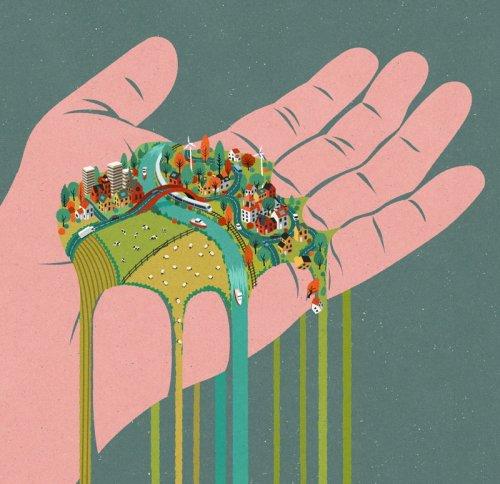 Современное общество в иллюстрациях Джона Холкрофта (31 шт)