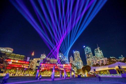 Фестиваль музыки и света Vivid Sydney 2017 в Сиднее (13 фото)