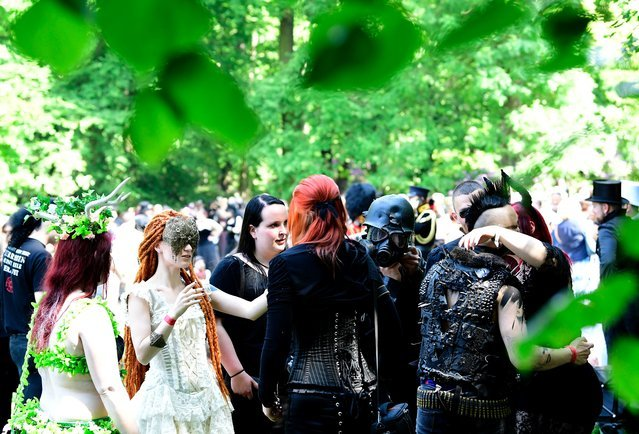 Музыкальный фестиваль готов Wave-Gotik-Treffen 2017 (19 фото)
